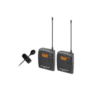 Sennheiser Wireless Lav Mic Kit - ew 122-p G3 Camera Mount with ME 4 Lavalier Mic