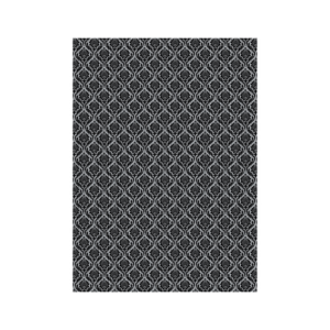 Toronto Impact Velour Gray Black Background Pattern 9x12 Fabric Backdrop Rental